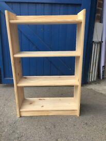 Small wooden bookshelf