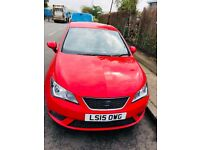 2015 SEAT Ibiza 1.4 16v Toca 5dr. Only 32k Runs. Drive like a brand new car. Best price guarantee