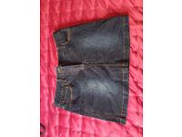 Ladies Denim Mini Skirt