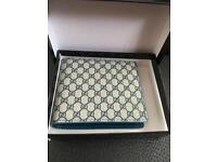 Blue Gucci Wallet