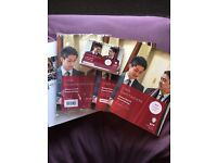 CIMA F3 BPP course notes, study text, question practice kit and passcards brand new, never used