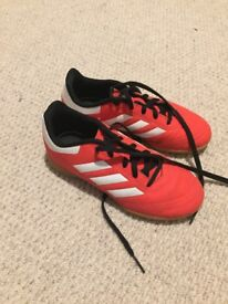Kids indoor football boots size 13