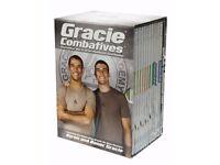 Gracie combatives jiu jitsu DVDS - brazilian jiu jitsu bjj gi Kimono POSTAGE AVAILABLE mma ufc