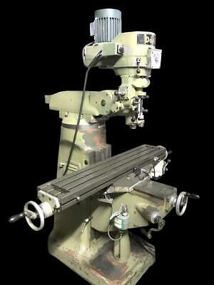 Doall Variable Speed Vertical Mill Milling Machine Power Feed - 54 X 9 Table