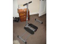 Leg Magic - lower body workout machine.