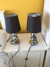 Table bedside lamps