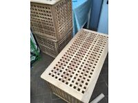 Ikea HOL Storage boxes/tables