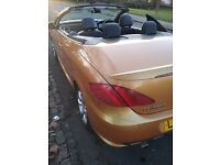 Peugeot 307cc 1.6 Convertible,1yr mot, 88k miles,excellent engine and gearbox in perfect condition
