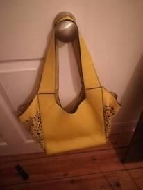 Lovely yellow ladies bag