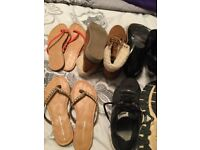 5 pairs ladies asst footwear