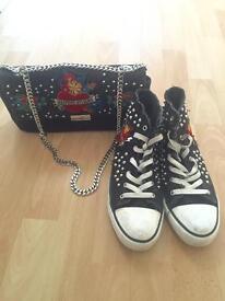 Zara Pumps and Bag