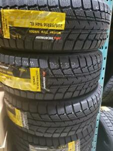 4 winter tires headway 205/55r16 new