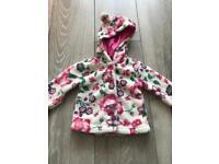 Joules 0-3 girls jacket coat