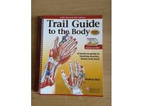Physiotherapy anatomy book Trail Guide to the Body inc.DVD