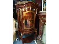 French, Hand Painted Cabinet