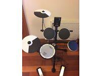 Roland TD-1KV electronic drum kit + stool