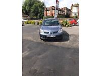 RENAULT CLIO 1.2 2007 BLUE MANUAL 3DR **VERY LOW MILEAGE**