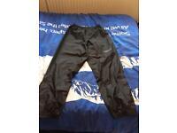 XL RST motorbike waterproof trousers