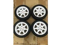 Honda Civic Type R EK9 wheels 97-99 Championship White OEM Dc2 integra 114.3 x 5 alloys