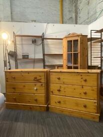 Pine drawers sold separately