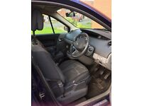 Car Renault scenic 7 seater