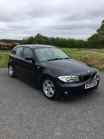 BMW 1 series 170bhp sport version M style sports seats good reliable car