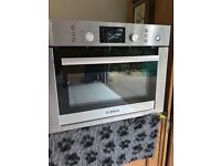 Ex display Bosch micro convection oven never used