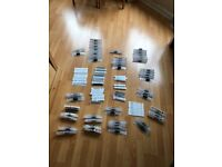BULK TATTOO GRIPS AND TIPS AND NEEDLES KILLER INK DISPOSABLE STERILE LOT OF 50 machine power supply