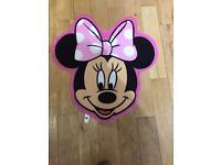 Minnie Mouse rug