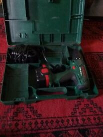 Bosch cordless screwdriver and hammer drill