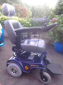 POWERCHAIR Mambo 312 Met-blue. Excellent Condition. Used Once. Genuine Bargain