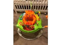 Rainforest jumperoo - excellent condition - hardly used!