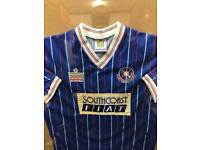 Very rare Portsmouth matchworn shirt from 1987