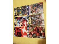 Marvel Comics Lot + Judge Dredd Graphic Novel (Modern Age) Avengers, Wolverine & Deadpool, Comic Lot