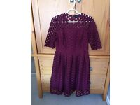 Burgundy Dress Size 12