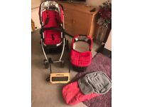 Uppa Baby Travel System & Extra's