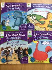 Songbirds Phonics Books by Julia Donaldson