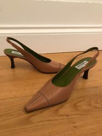 Donald Pliner at Russell & Bromley Leather Slingbacks size 6
