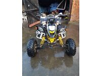 2009 can-am ds450x road legal quad not banshee raptor ltr ltz