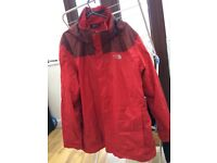 Waterproof warm Northface jacket