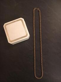 Ladies 9 Carat Gold necklace