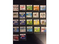 2x Nintendo DS consoles plus 26 games