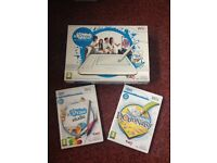 Wii U-draw tablet/game and U-draw Pictionary game