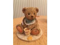 Cherished teddies 1991 Benji bear life is sweet, enjoy ornament