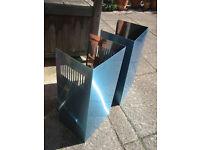 Stainless steel chimney shroud extendable