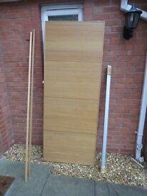 Pair of Sliding Wadrobe Doors (ex-Ikea)