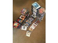 Massive bundle of CD's, DVD's and PlayStation games!