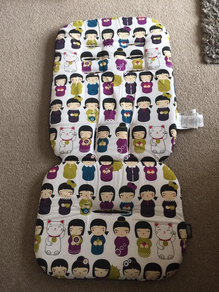 Mamas & Papas Memory Foam reversible pushchair liner