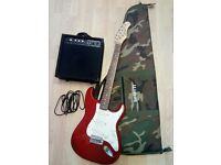 Stagg Electric Guitar, Bag and Amp