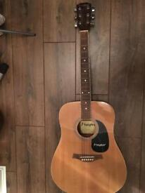 Westfield acoustic guitar - needs restringing